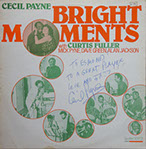 Image of front cover of the Bright Moments lp